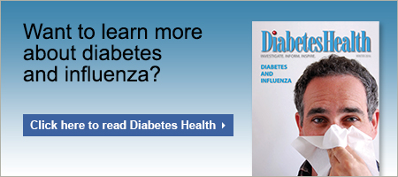 Diabetes Health flu insert 2020